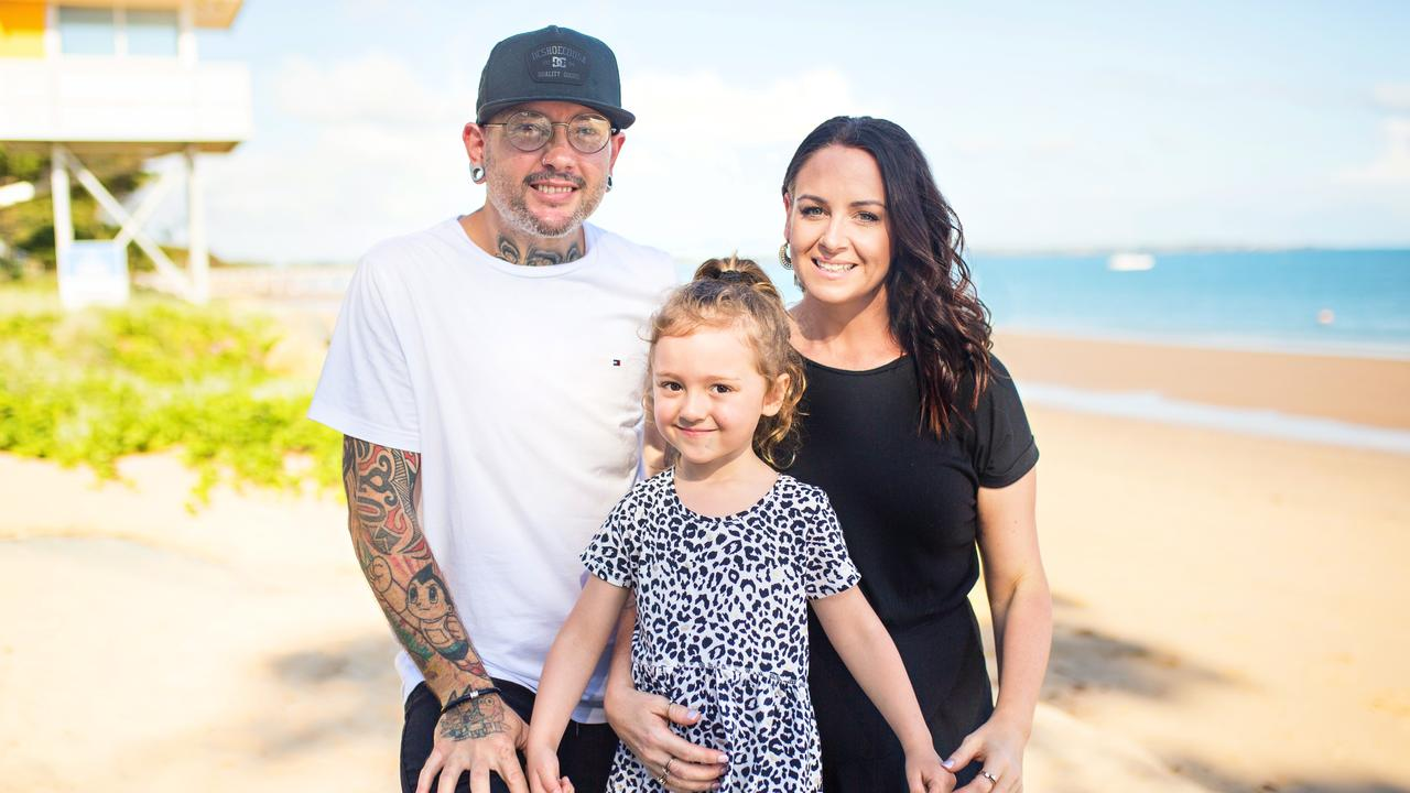 After using their MKR winnings to start a family through IVF, Dan and Steph now live in Hervey Bay with their daughter Emmy, four, and run a restaurant.
