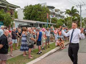 Auctions all action with bidders battling it out