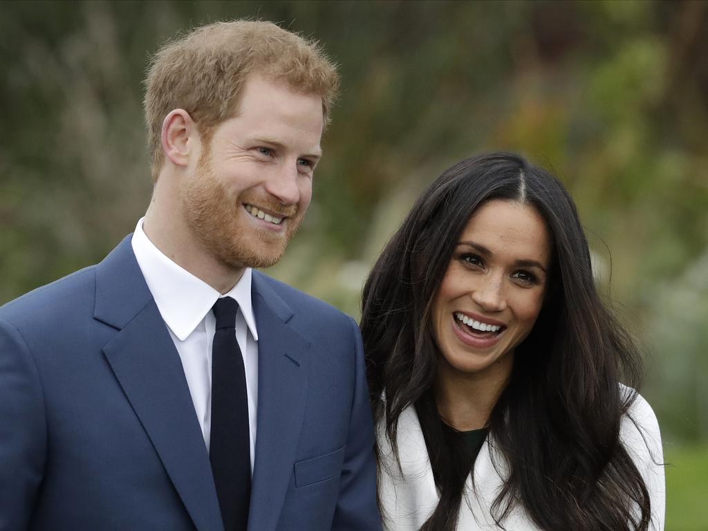 The couple announced their intention to step back earlier this year and will now no longer hold royal titles. Picture: AP Photo/Matt Dunham, File)