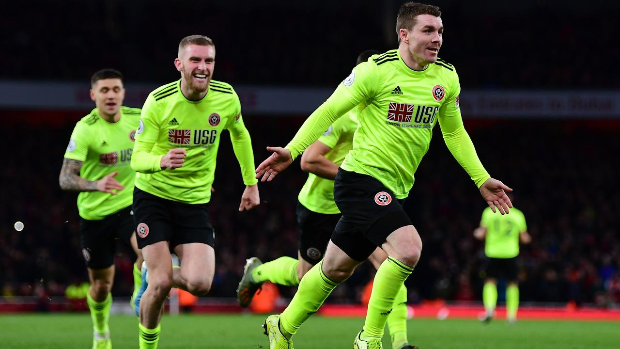 John Fleck salvagwed a point for Sheffield United.