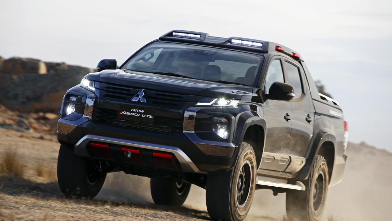 Mitsubishi Triton Absolute concept.
