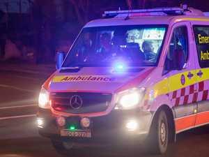 Man hospitalised after vehicle rolls on Burnett Highway