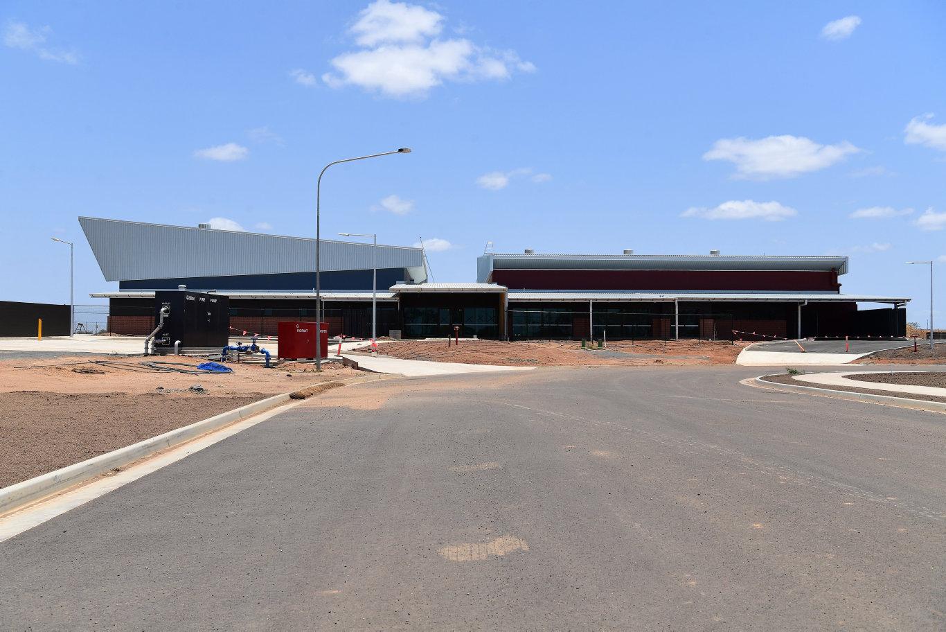 The new aeromedical base at Bundaberg Airport.