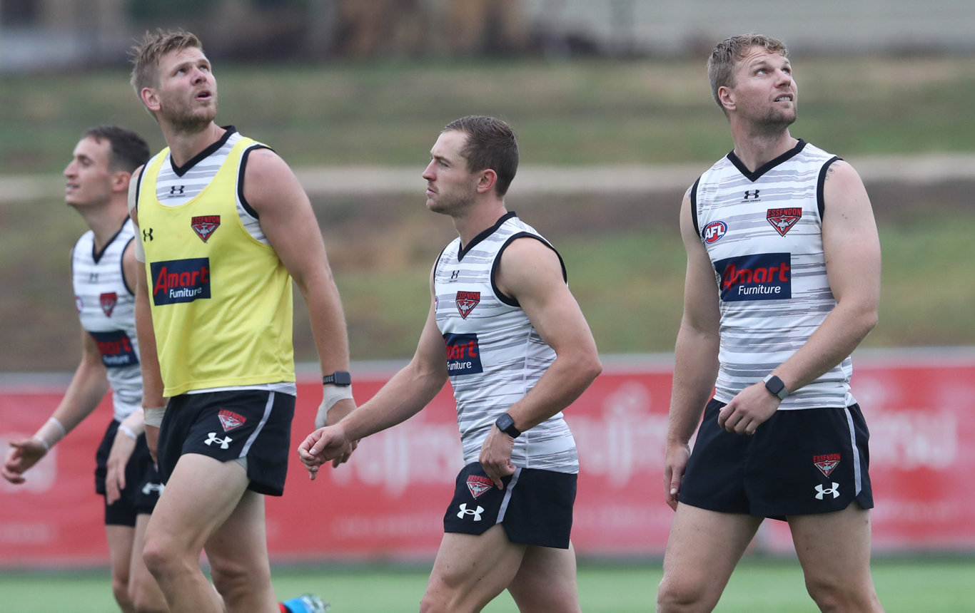 The Essendon Bombers are in preseason training in Coffs Harbour this week.