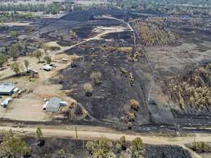 What Bundamba fire zone looks like now