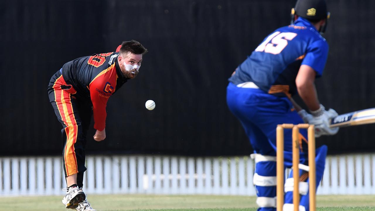 Sunshine Coast Scorchers bowler Kobi Griggs. Photo: Warren Lynam