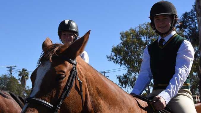 Junior riders gallop into future