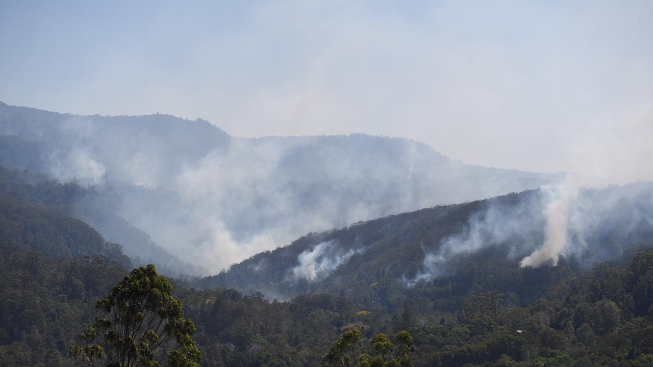 Fires on the hills of Mt Nardi and Tuntable Falls near Nimbin as well as Border Trail, Woodenbong fire have been competley extinquised by recent significant rains.