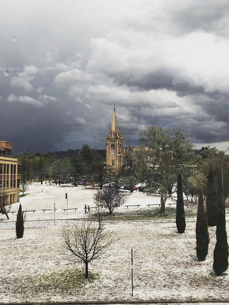 A Canberra white wonderland … Picture: Instagram
