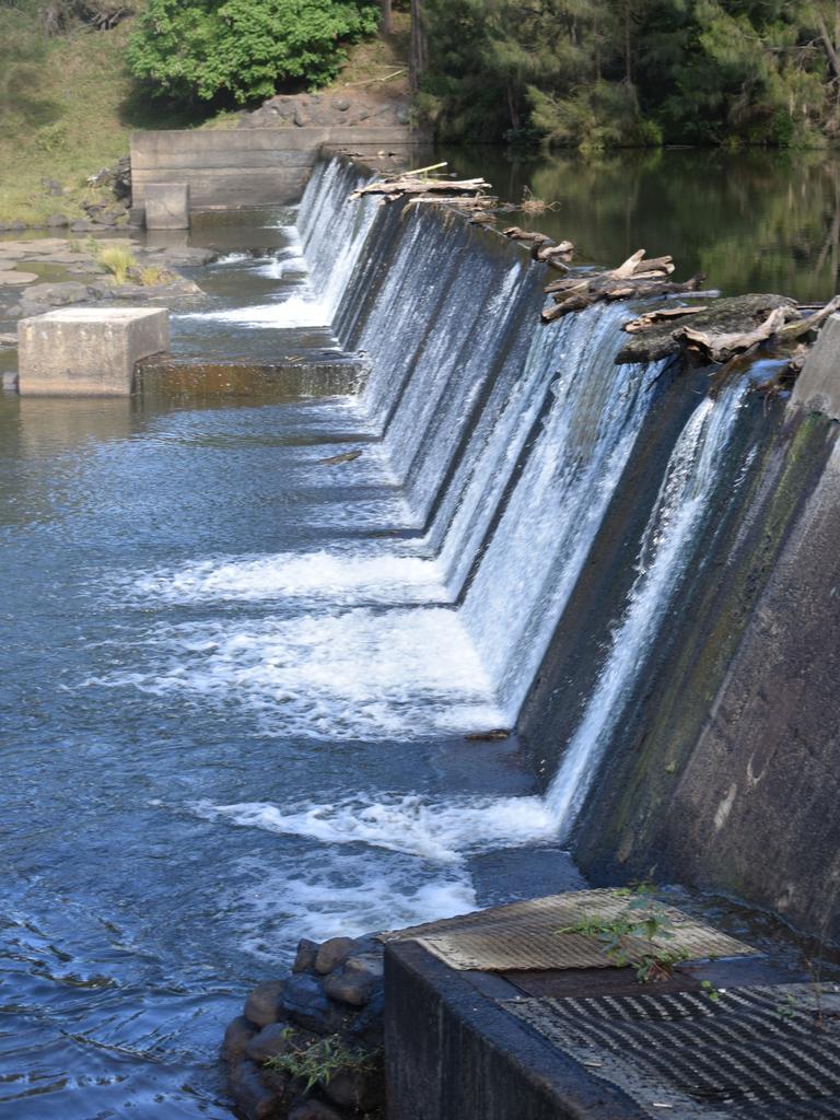 Photo taken at Jabour Weir on Richmond River last year. Picture: SUSANNA FREYMARK