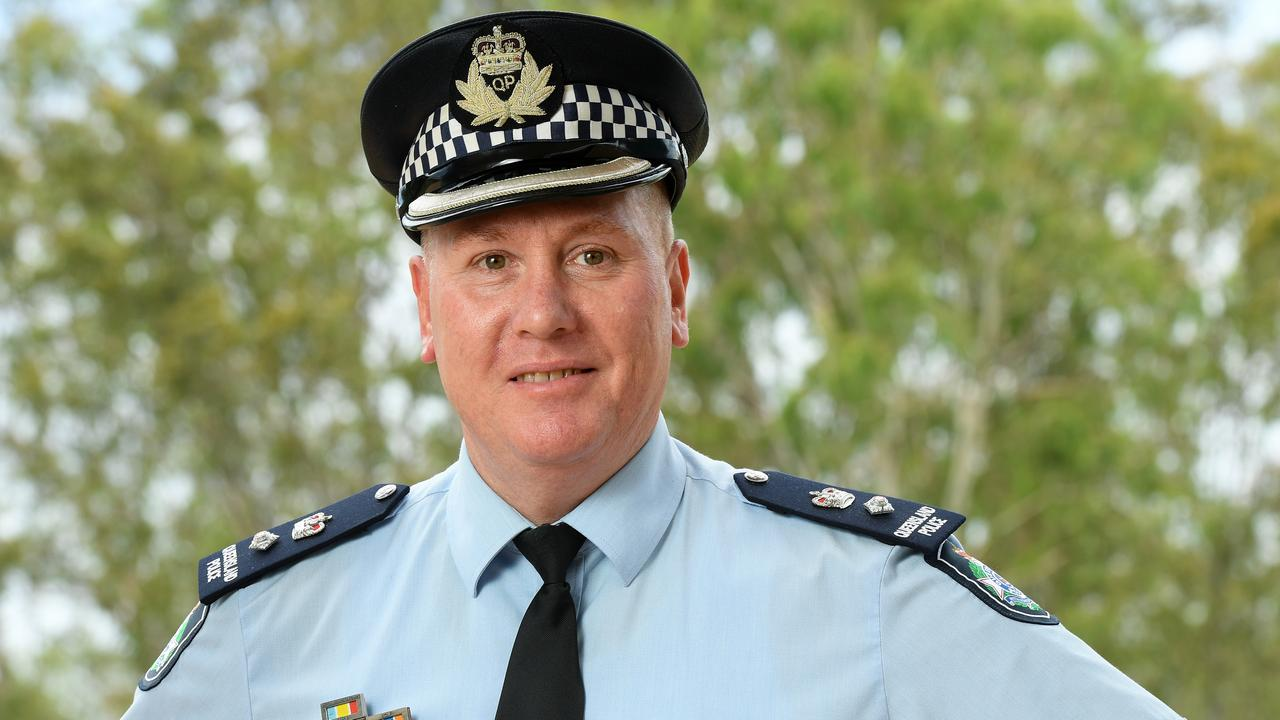 Dave Cuskelly is the new police Superintendent in the Ipswich district. Photo: Rob Williams