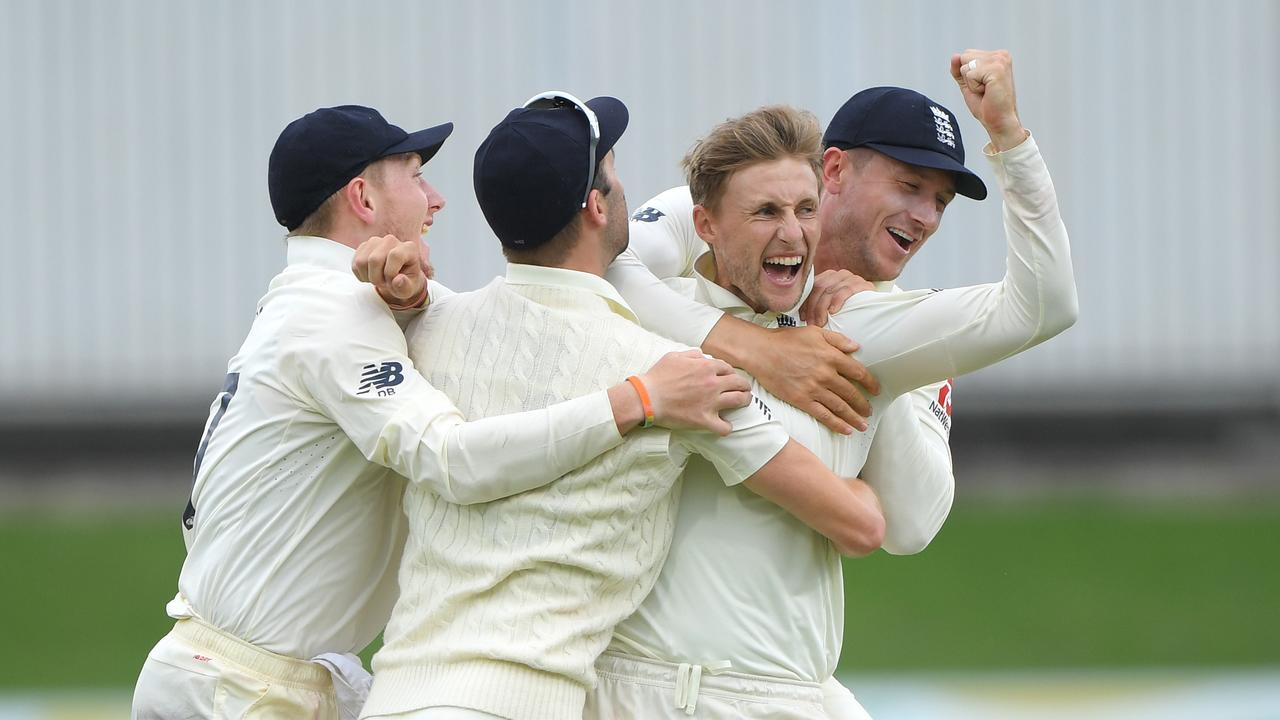 Joe Root took four wickets on day four of the final Test against South Africa.