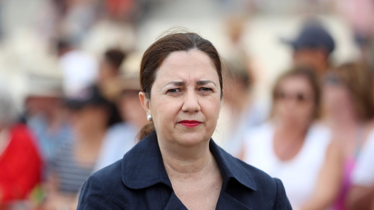 Premier Annastacia Palaszczuk told Parliament on November 28 the CCC's recommendations would be fully implemented. Picture: NIGEL HALLETT