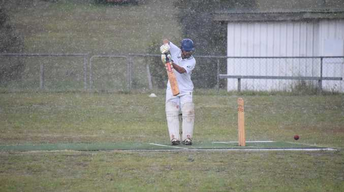 A wet weekend for South Burnett cricket