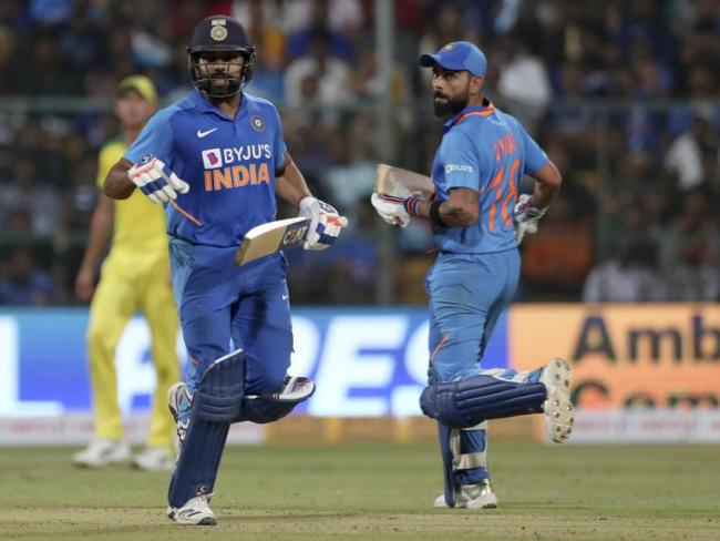 Rohit Sharma and Virat Kohli ruthlessly put Australia's bowlers to the sword.