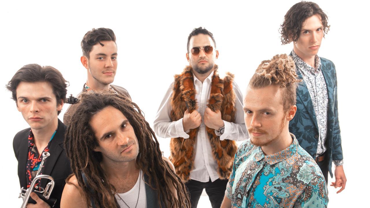 Brisbane based band Fat Picnic.