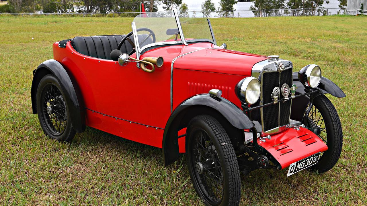The 1930 MG M-Type 8/33 Midget. Picture: Warren Lynam