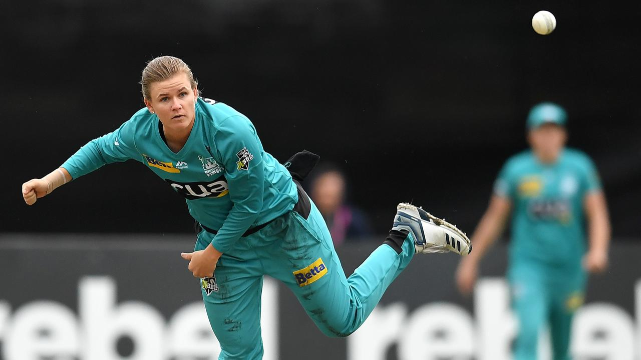 Jess Jonassen starred for the Brisbane Heat in the WBBL season. Picture: Quinn Rooney/Getty Images