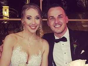 Wife defends groom's 'awful' act at wedding