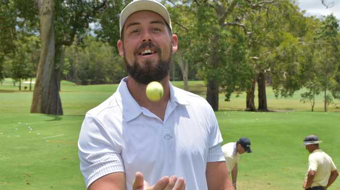 DIFFERENT STROKES: From paint rep to golf pro