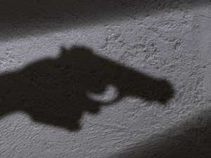 Offender charger over alleged hotel gelblaster shooting
