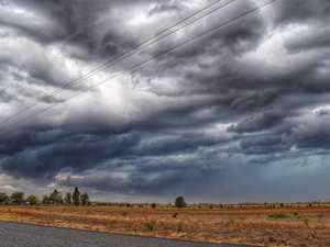 Midnight storm lashed Chinchilla