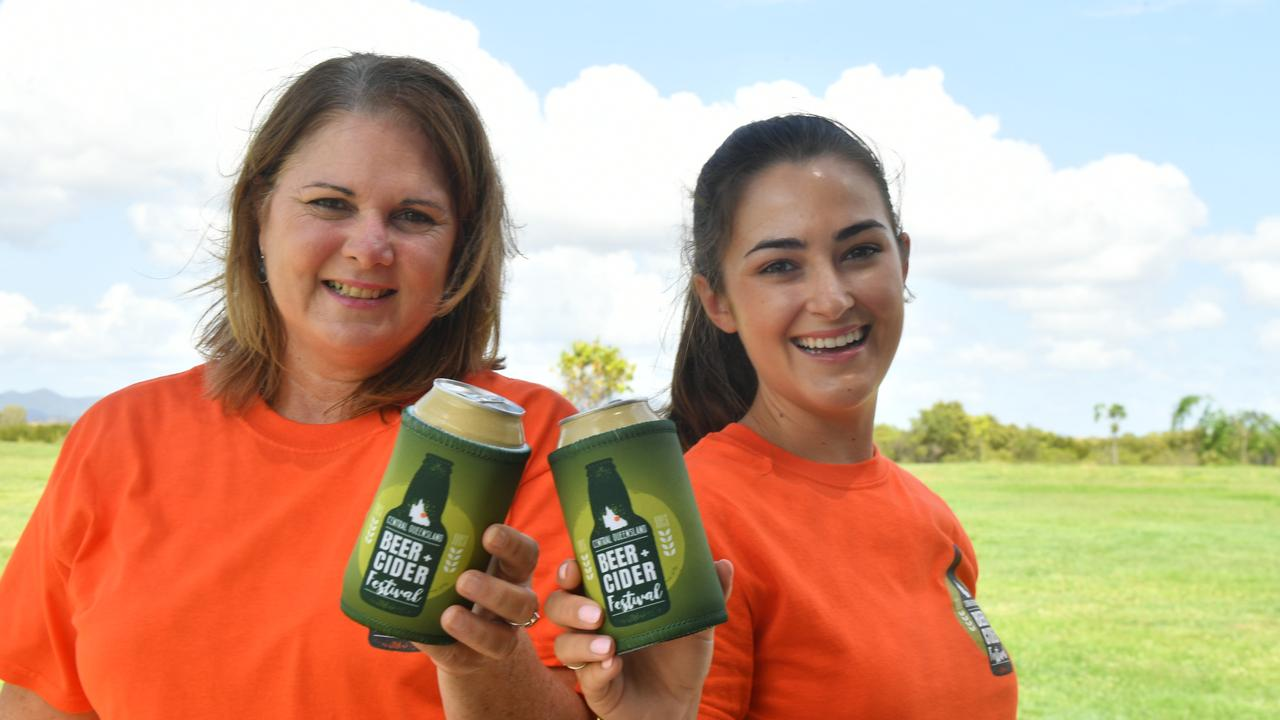 Tracey French and Nicola Scurr are getting ready for the first CQ Beer and Cider festival on February 1.