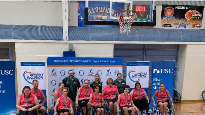 Fraser Coasters roll into bronze in wheelchair basketball comp