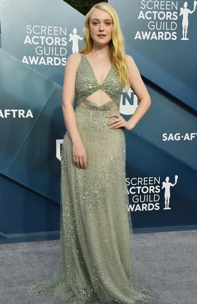 Glittering Dakota Fanning. Picture: Getty Images