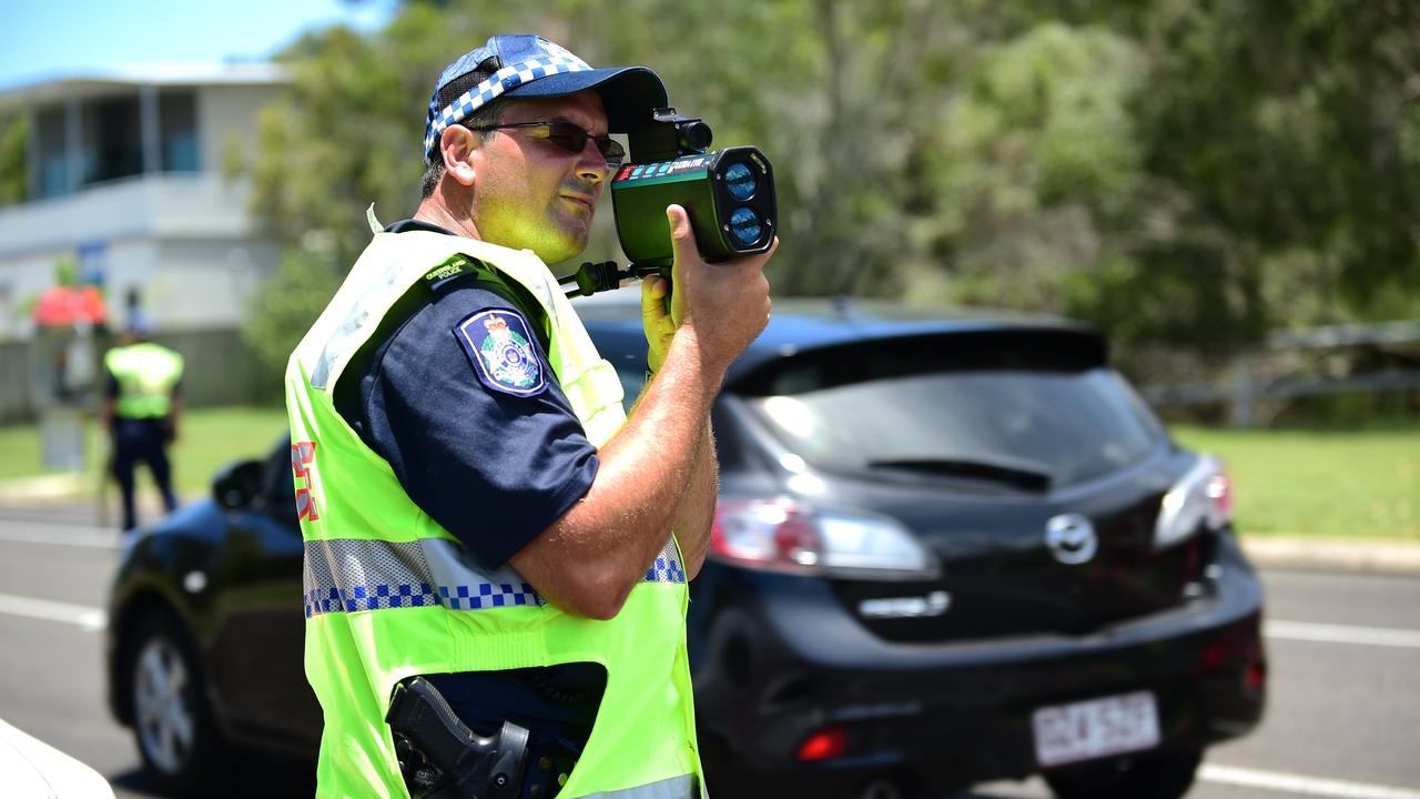 A red P plater was caught doing nearly double the speed limit down Haly St, Kingaroy.