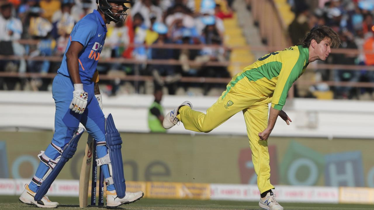 Adam Zampa continued his run of taking the wicket of Indian captain Virat Kohli.