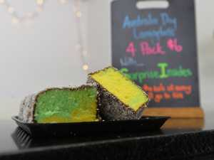 AUSSIE: Bundy bakery serving up green and gold lamingtons
