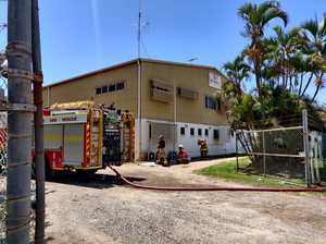 Staff evacuated after paint booth fire in Mackay