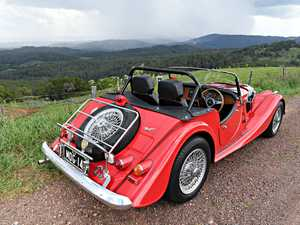 Rick Thurgood is the owner of a Morgan Sports Car.