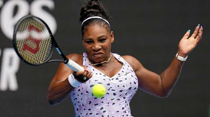 Serena delivers royal smackdown