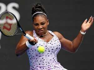 Serena delivers royal smackdown