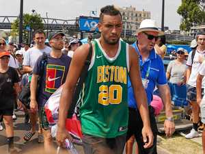 Kyrgios rehabilitation regime to undergo test at Open today