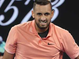 'Oh my god': Nick Kyrgios scoffs at question