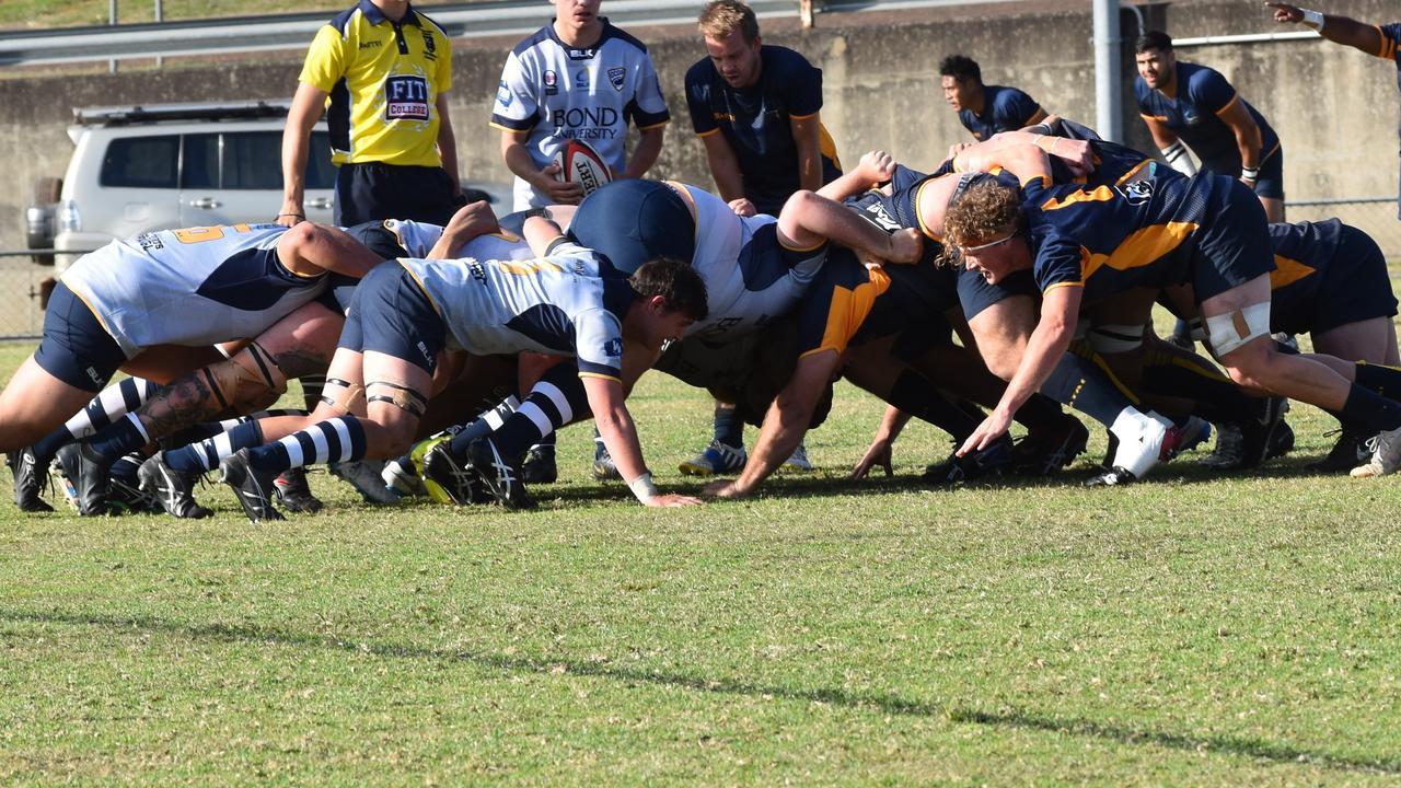 Rugby union - Stingrays v Cyclones. Photo Bec Singh