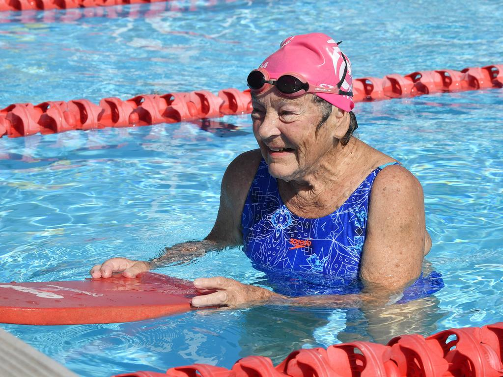 Swimmer Margaret Cunningham. Picture: Tony Martin