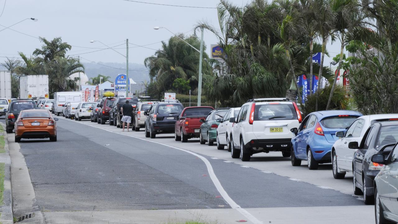 TRAFFIC SOLUTION: A proposal to convert River St from two lanes to four lanes from the Pacific Highway through to River St to ease traffic congestion will be discussed at Ballina Shire Council's meeting on Thursday, January 23.