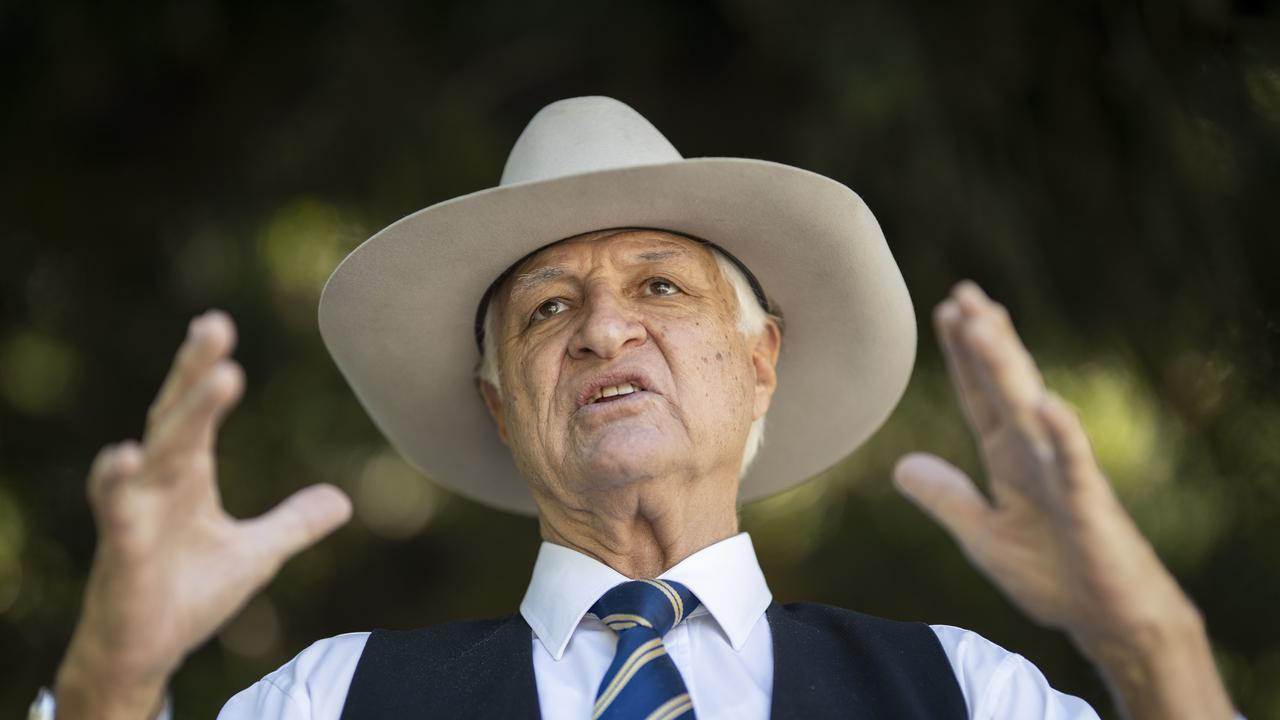Katter's Australian Party leader Bob Katter concluded places like Doomadgee, Normanton and Burketown are sparsely populated enough to be safe spots for a reactor. Photo: AAP Image/Glenn Hunt