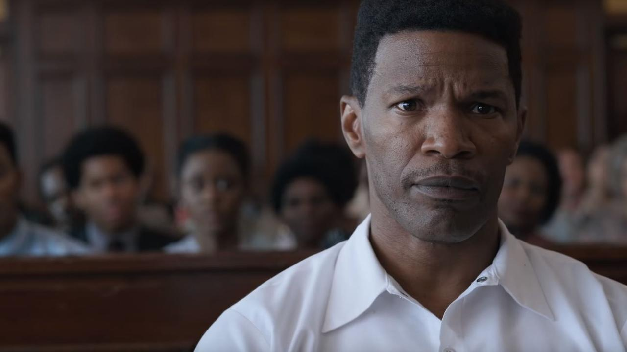Jamie Foxx has been nominated for a Screen Actors Guild award for his performance in Just Mercy.
