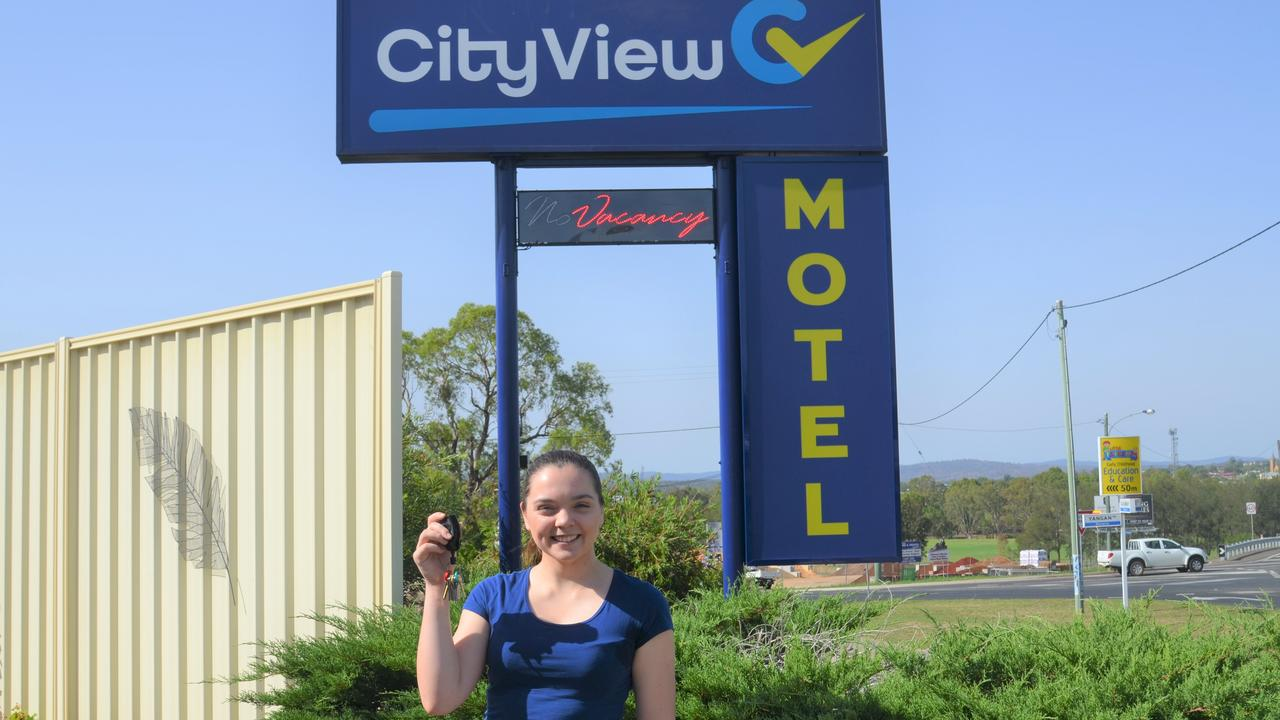 MOVING IN: Nina Bloom is welcoming guests to the City View Motel.