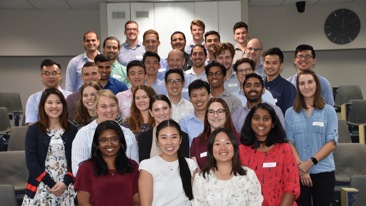 35 medical interns kick start their careers at Ipswich Hospital.