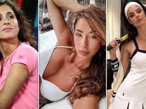 Glamorous tennis WAGs spice up Australian Open