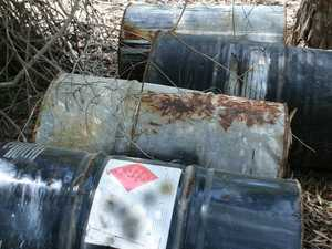 More drums illegally dumped near Yeppoon