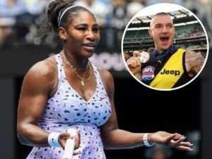 Serena explains Dustin Martin no-show