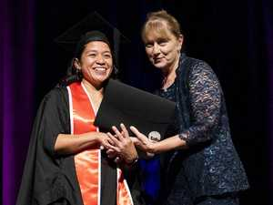 Single mother-of-two recognised as student of year