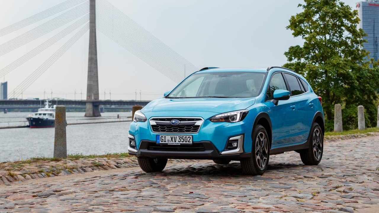 Subaru XV Hybrid (overseas model shown).